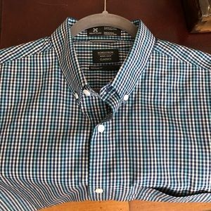 Nordstrom classic Men's Short Short Sleeve Shirt